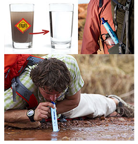 Lifestraw Portable Water Filter Survival Frog