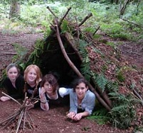survival training shelter